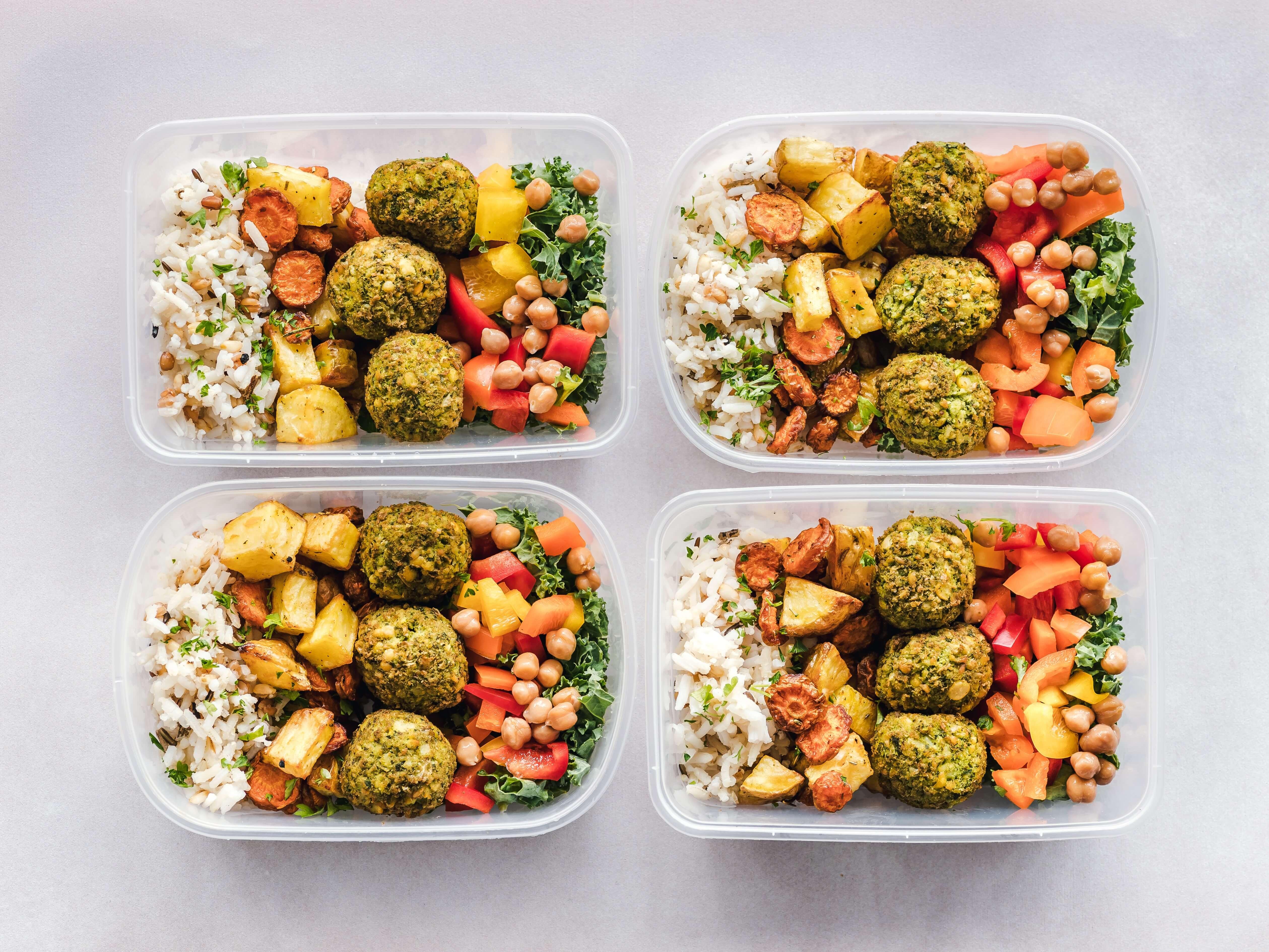 fresh, healthy food
